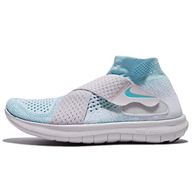 Image Unavailable. Image not available for. Color  Nike Free RN Motion  Flyknit 2017 Women Glacier Blue Vast ... 7aec58bc9