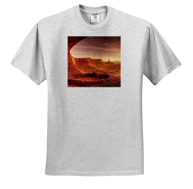 Island in The Sky Adult T-Shirt XL ts/_315078 Canyonlands NP False Kiva Utah Utah USA 3dRose Danita Delimont