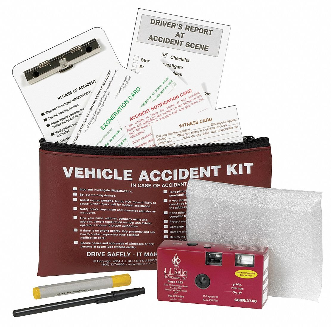 Accident Report Kit, Audit/Inves/Records
