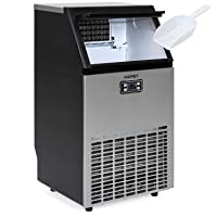 KUPPET Stainless Steel Commercial Ice Maker-Under Counter