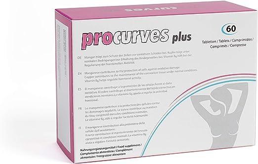 Aumento de senos - Procurves Plus: Pastillas para aumentar el pecho