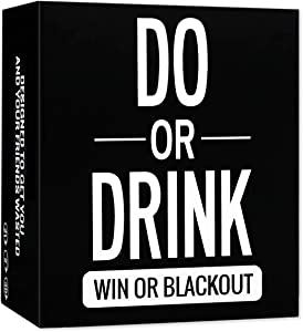 Do or Drink - Drinking Card Game - Adult Party Game - Dare or Shots for College, Camping, 21st Birthday or Pregame Pass Out Party - Funny & Beyond for Men & Women