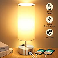 Deals on Shine Hai 3-Way Touch Control Dimmable Table Lamp