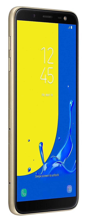 Samsung Galaxy J6 2018 32 GB UK SIM-Free Smartphone, Gold, UK Version