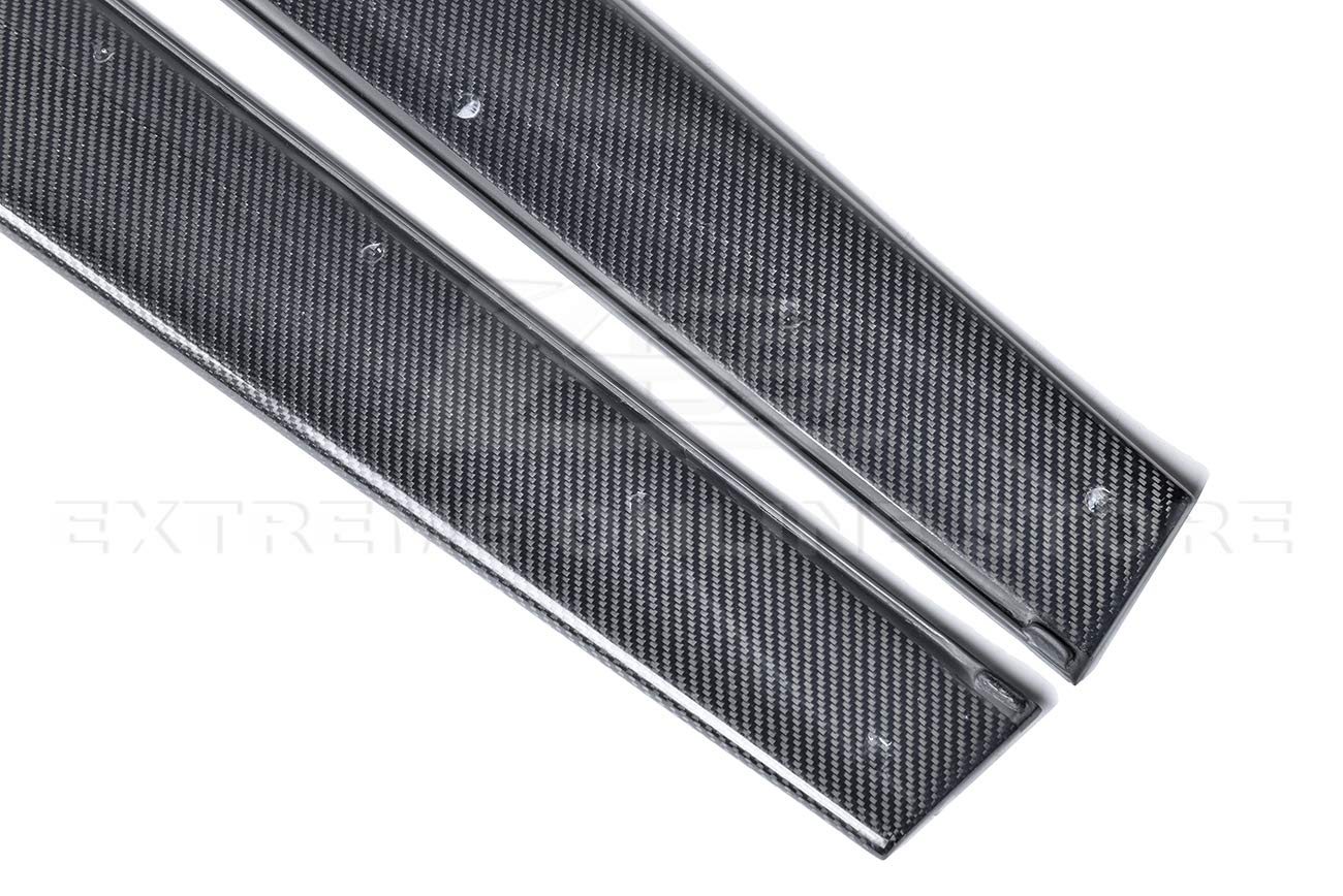 EOS M-Performance Style Carbon Fiber Side Skirt Rocker Panels Extension SS-120-BKCF Extreme Online Store Replacement for 2015-Present BMW F82 M4