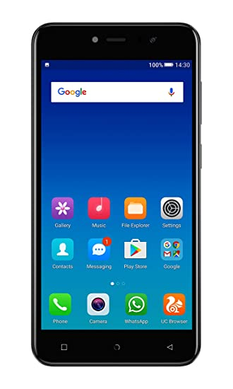Gionee A1 Lite (Black, 3GB RAM, 32GB Storage)