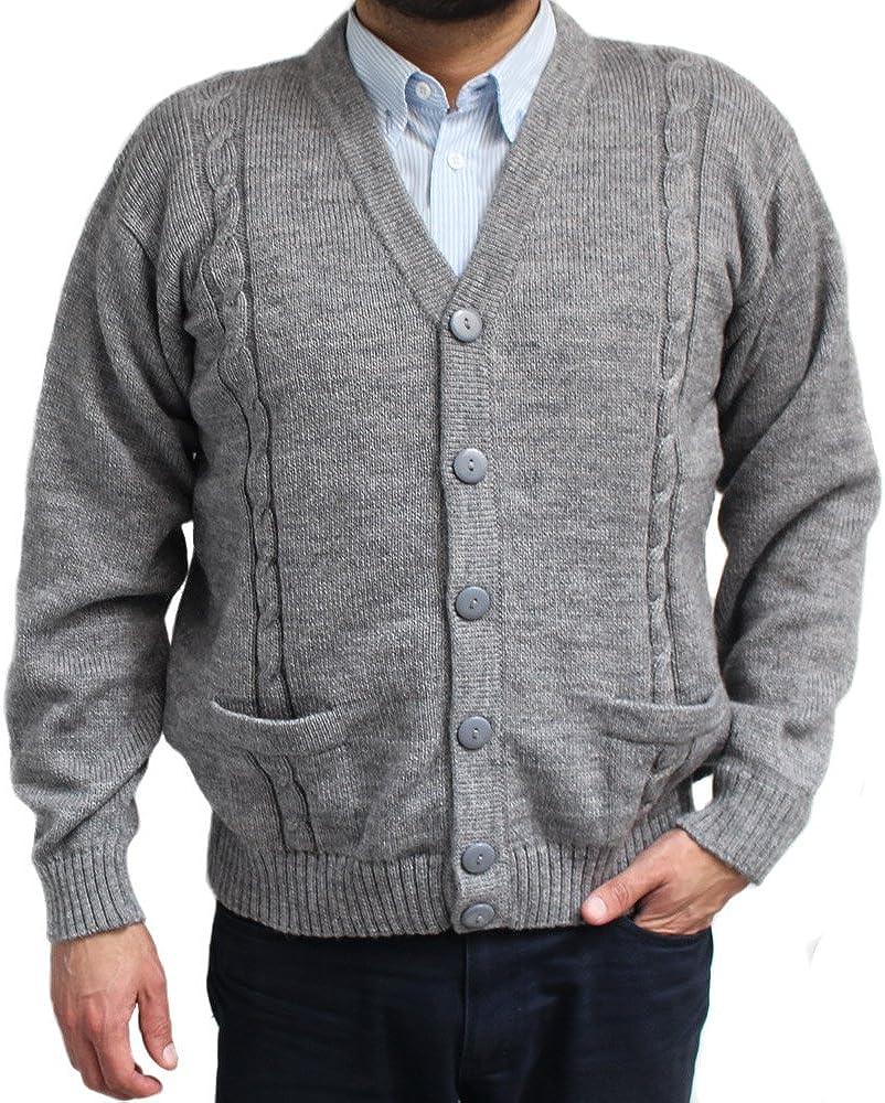 Brand MERAKI Mens Standard V Neck Cardigan