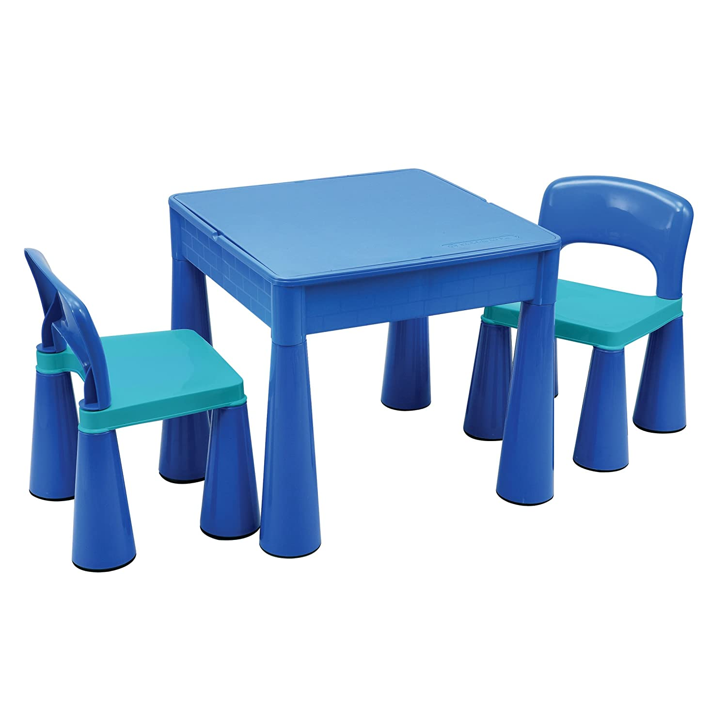 Liberty House 5 in 1 Activity Table & Chairs with Writing Top/Sand/Water/Storage LH899B