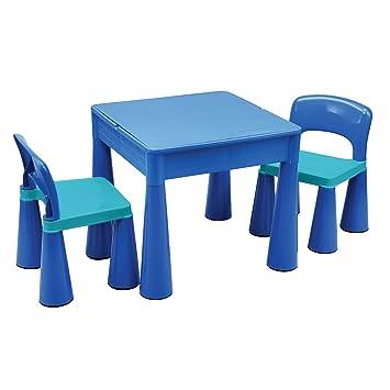 Liberty House LH899B Juego de mesa y 2 sillas infantiles, color Azul ...