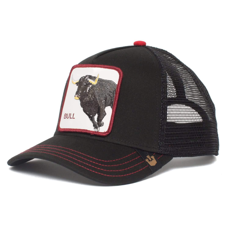 Goorin Brothers Unisex Animal Farm Snap Back Trucker Hat Black Bull Honky One Size by Goorin Bros. (Image #2)