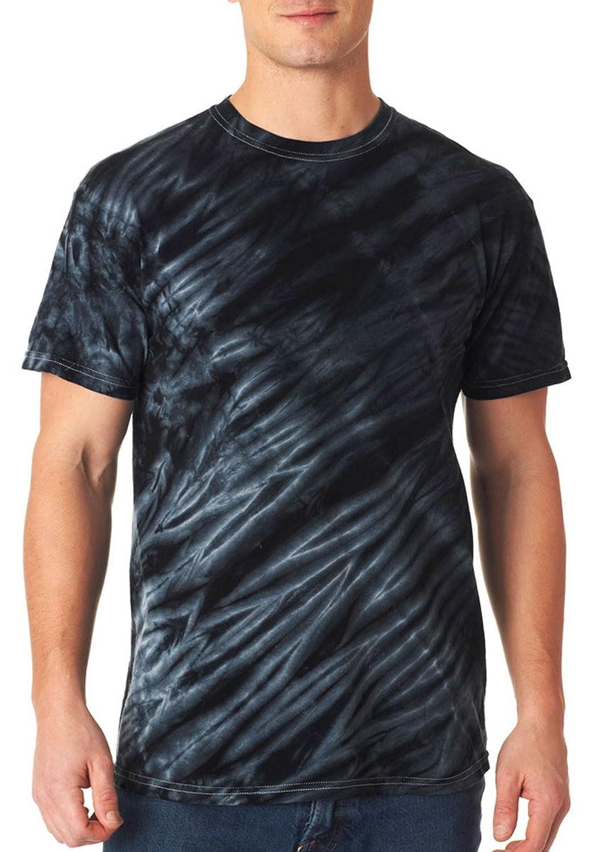 Gildan Men's Tie-dyes Tiger Stripe Tee