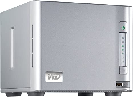 Amazon.com: WD WDA4NC80000 N ShareSpace 4-Bay Attached ...