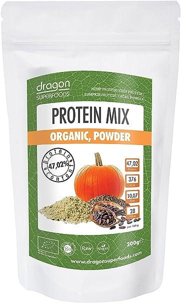 Dragon Superfoods Protein Mix Organic - Mezcla de Proteina ...
