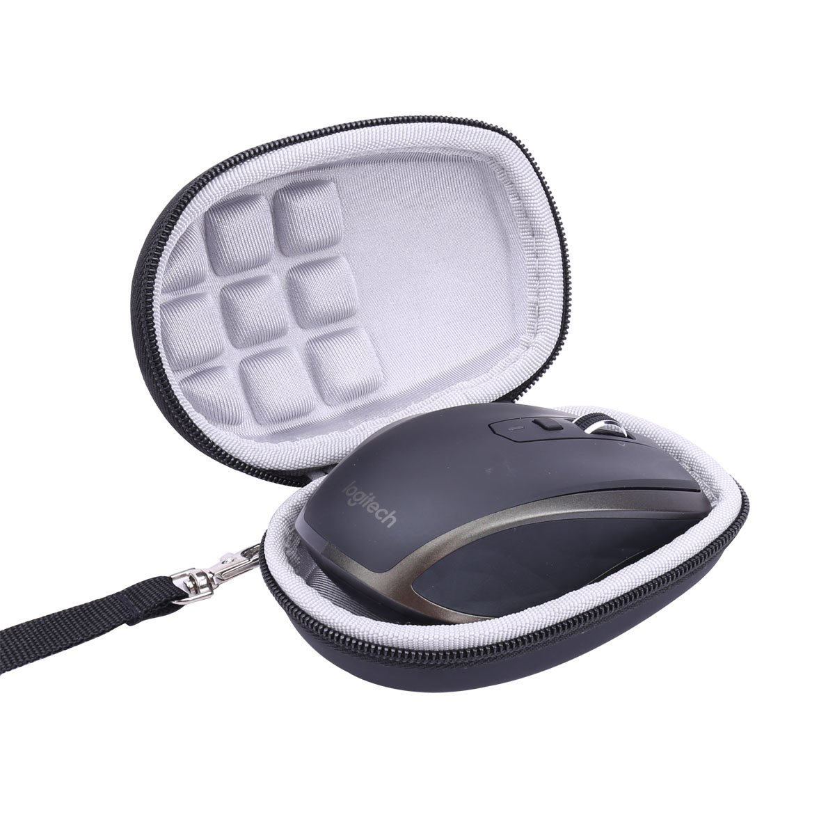 Hard Travel Case for Logitech MX Anywhere 1 2 Gen 2S Wireless Mobile Mouse by co2CREA