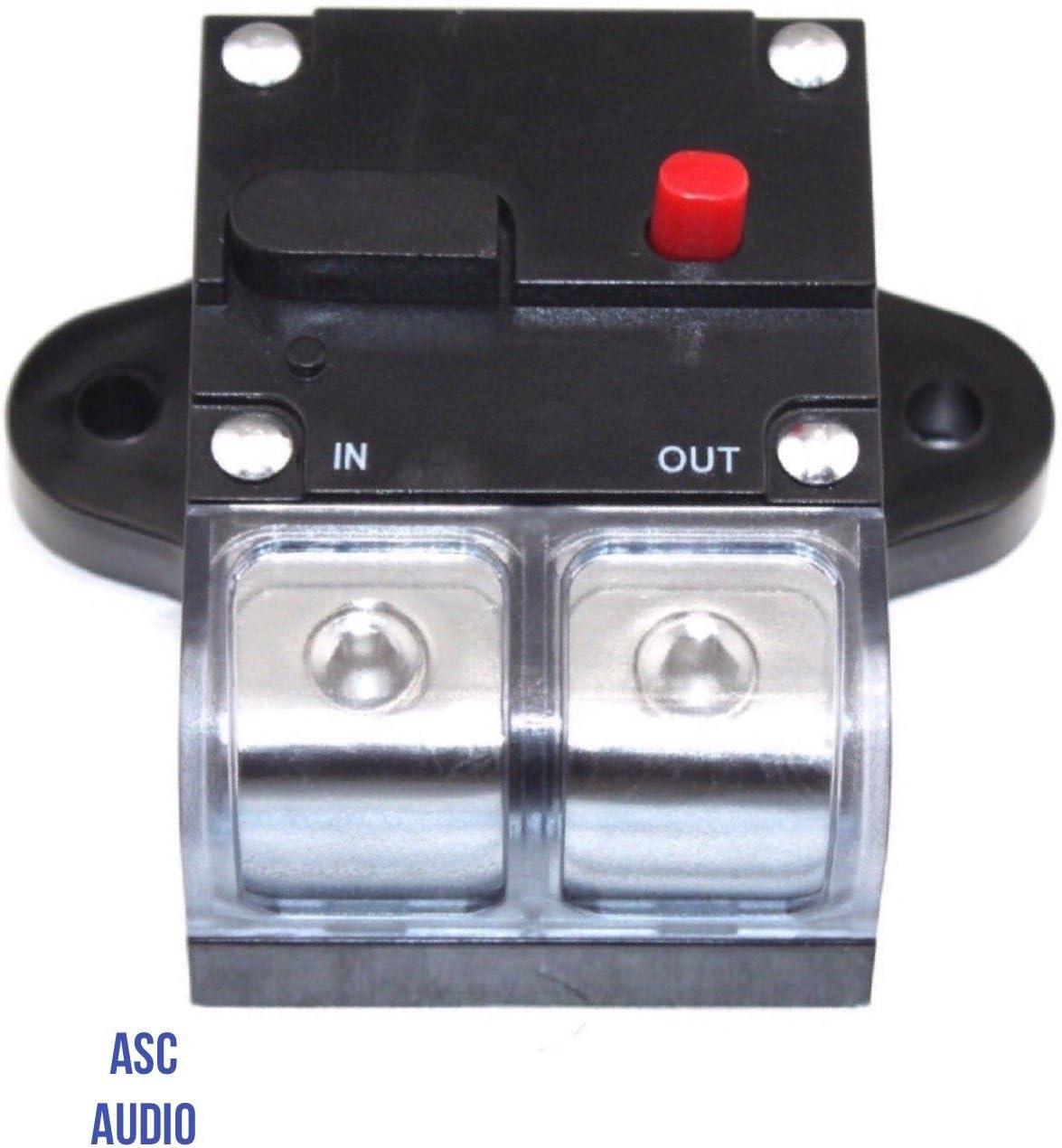 New 300 AMP 0 2 4 Gauge Car Auto Audio Inline Power Circuit Breaker 12V System