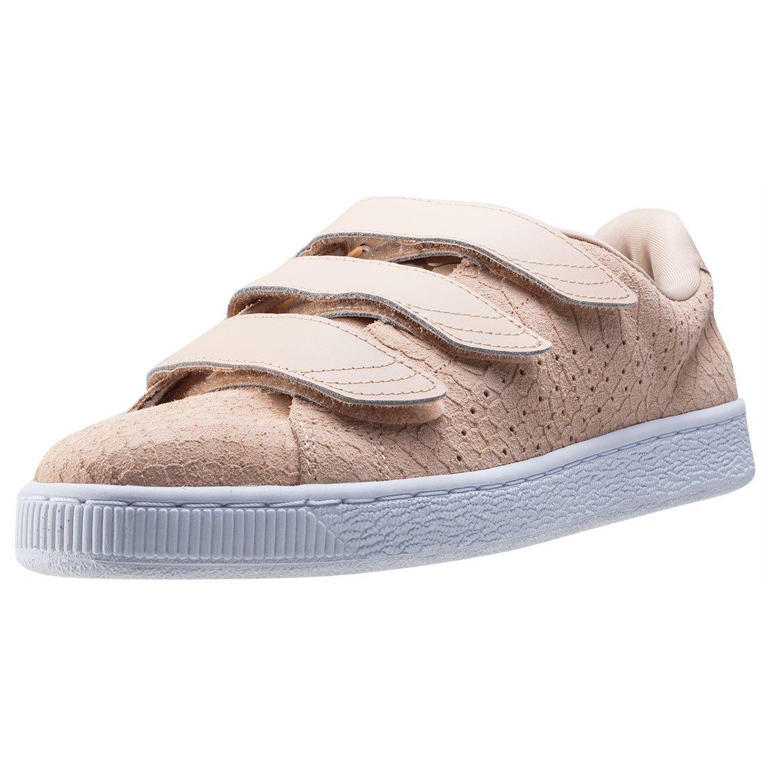 PUMA Basket Strap Exotic Skin Damen Sneaker Nude: