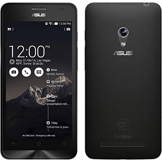 huge discount 4e089 1ef62 Amazon.com: Silicone Case for Asus Zenfone 5 - Slimcase transparent ...