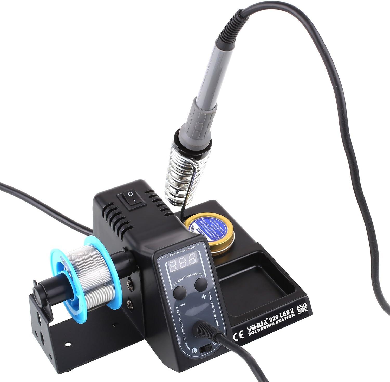 Einstellbare Lötstation 926 LED 90-480°C Mit Viel Zubehör Lötkolben Lötzinn