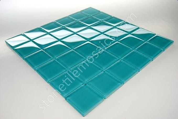 3dRose ct/_179669/_4 Turquoise Chevron Zig Zag Pattern Teal Aqua Blue Stylish Zigzags Ceramic Tile 12