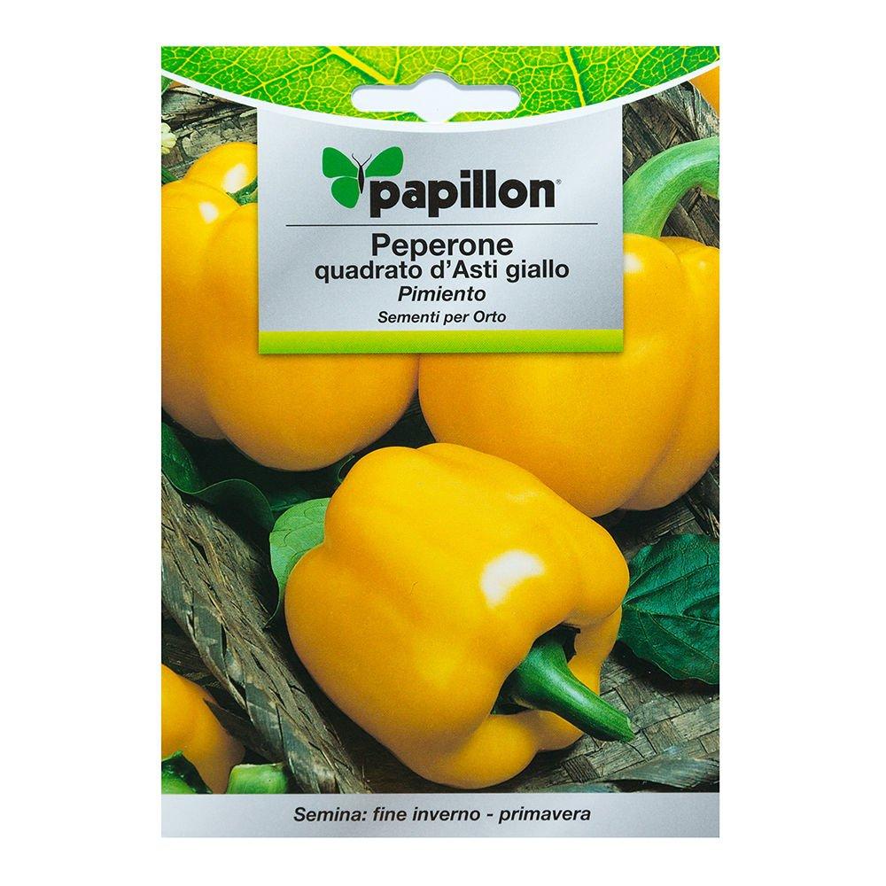 Semillas Pimiento Amarillo Cuadrado (1.5 Gramos): Amazon.es: Jardín