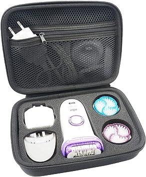 Funda Envoltura Caja EVA Bolso- Braun Silk Epil 9 Depiladora Funda Envoltura Caja EVA Bolso by SANVSEN: Amazon.es: Salud y cuidado personal