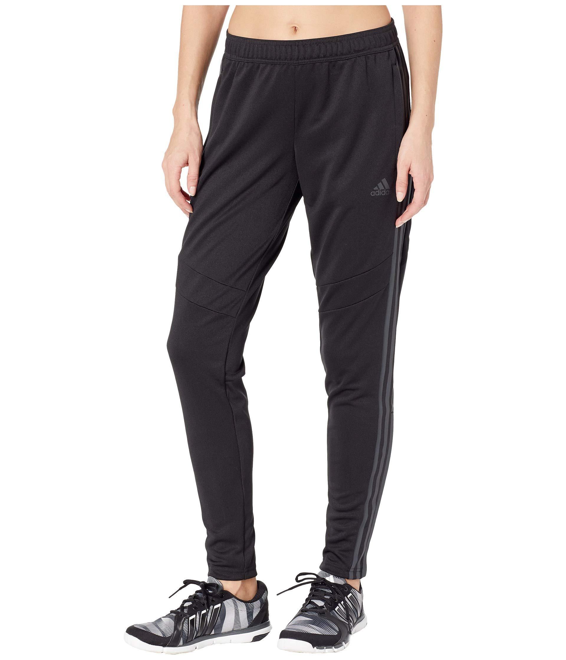 adidas Women's Soccer Tiro 19 Training Pant, Black/Carbon Pearl Essence, Small by adidas