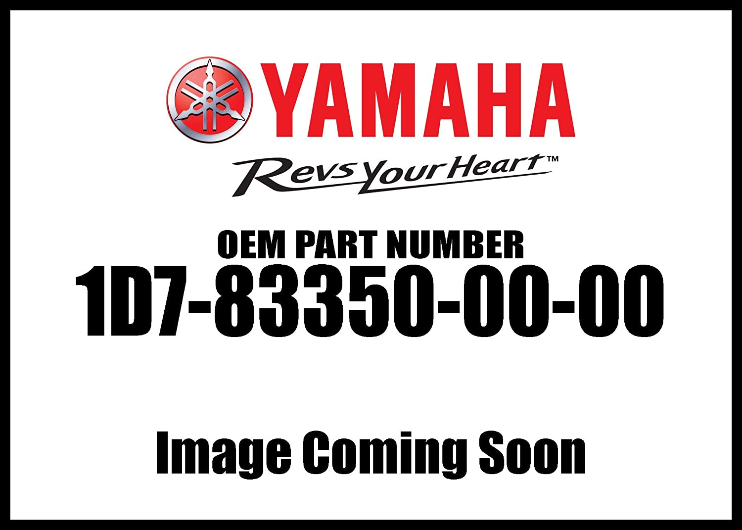 Yamaha 1D7-83350-00-00 Flasher Relay Assembly; 1D7833500000 Made by Yamaha