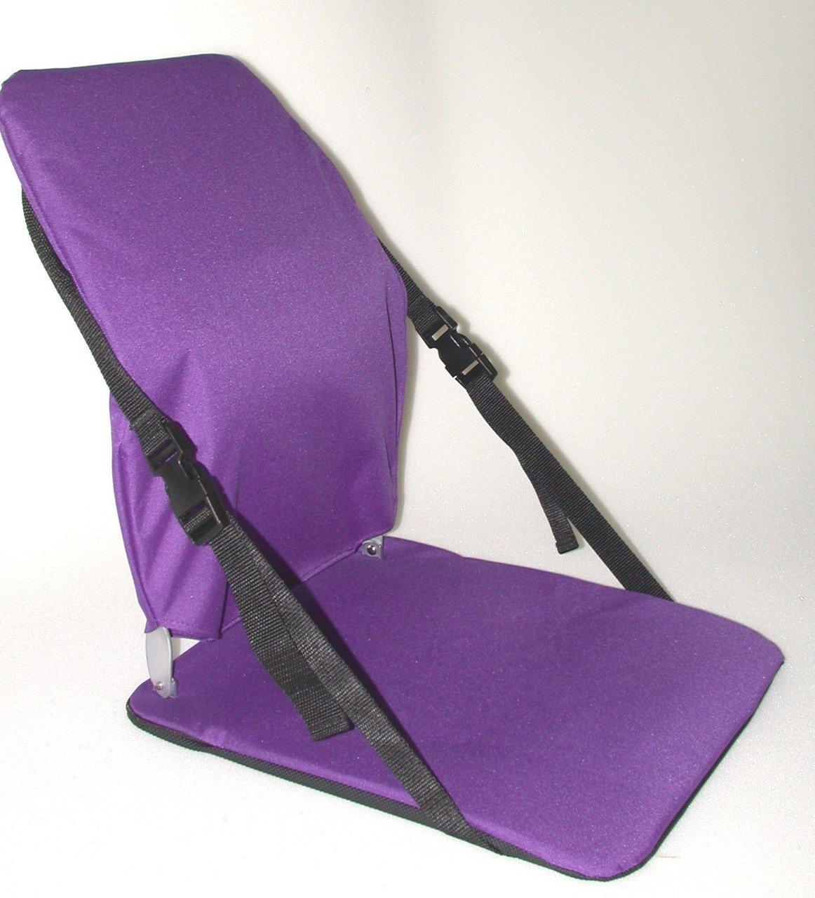 McCarty's Sacro Ease Portable Bleacher Stadium Cushion PURPLE
