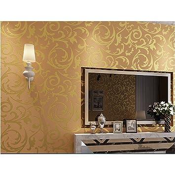 Vosarea 3d Victorian Damask Wallpaper Embossed Wallpaper Rolls For