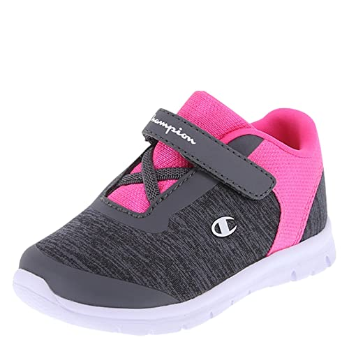 ca688c8d36abb Amazon.com  Champion Grey Pink Girls  Infant Performance Gusto Cross  Trainer 2 Wide  Shoes
