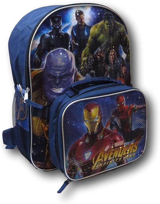 debd881c01 Amazon.com  Marvel Avengers Infinity War Backpack W  Detachable ...