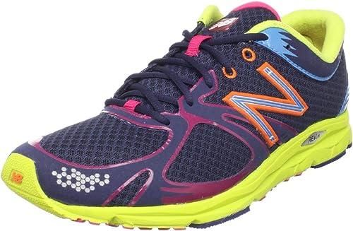 New Balance WR1400 - Zapatillas de running para mujer, color morado y azul,  talla 9,5