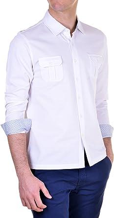 BRAMANTE - Camisa Hombre Regular Blanco L: Amazon.es: Ropa y ...