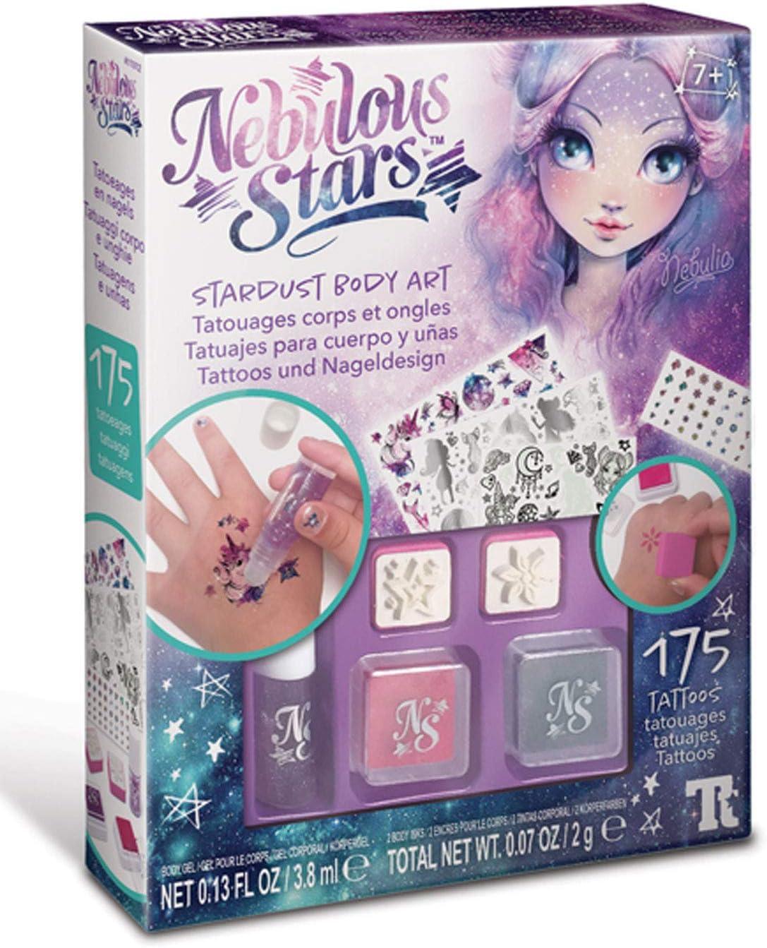 Nebulous Stars – 11012 Tatuajes y uñas: Amazon.es: Juguetes y juegos