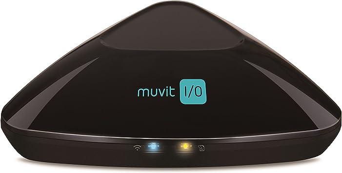 Muvit I/O MIOCRU001 - Control Remoto Universal Inteligente IR/RF/WiFi (hasta 15 programas de temporización, Antena de simulación 3D)