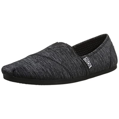BOBS from Skechers Women's Plush Fashion Slip-On Flat | Shoes