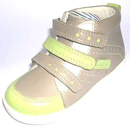 Elefanten - Mocasines de Piel para niño Gris Verde, Color Gris, Talla 23: Amazon.es: Zapatos y complementos