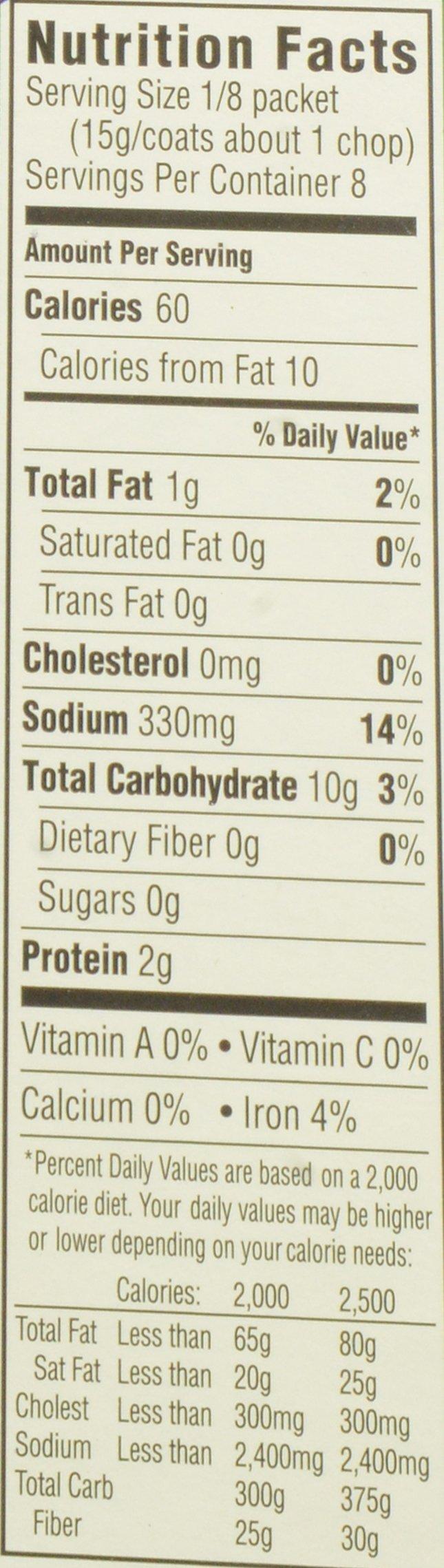 Kraft Oven Fry Seasoned Coating Mix for Pork, Extra Crispy, 4.2 oz(pack of 8) by Kraft Oven Fry (Image #2)