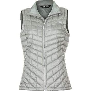 8682bbe746 THE NORTH FACE Women s ThermoBall Vest - Metallic Silver