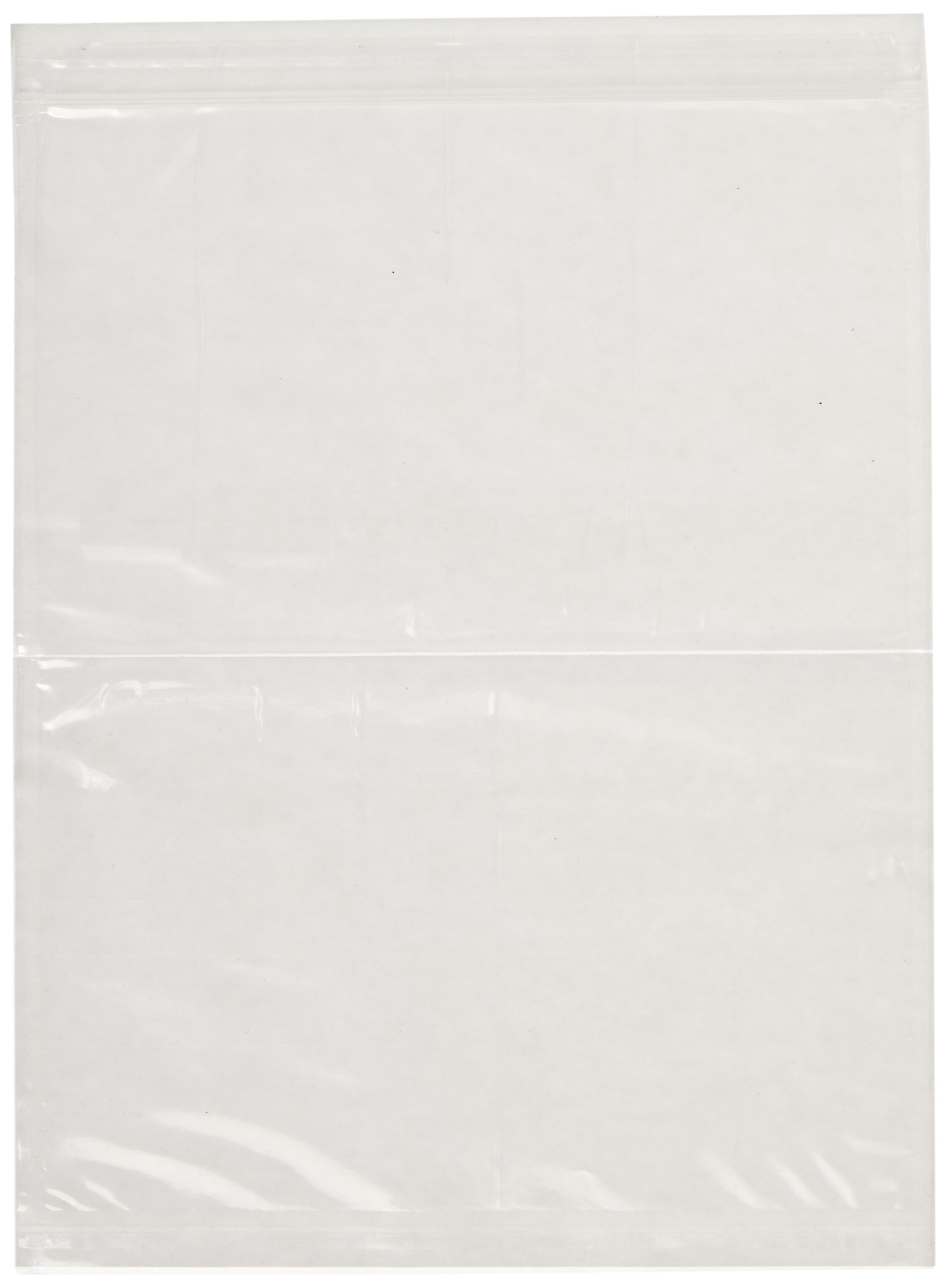 3M Non-Printed Zipper Closure Packing List Envelope NPZ-L Clear, 8-1/2 in x 11-1/2 in (Box of 500) by 3M