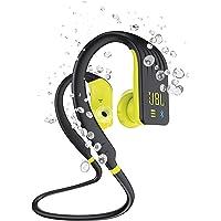 JBL Endurance Dive in Schwarz-Limette – Wasserdichter, kabelloser In-Ear Sport Kopfhörer mit integriertem MP3-Player – 8…