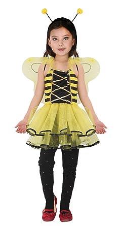 GIFT TOWER Déguisement Animal Petite Fée Papillon Princesse Halloween  Carnaval Costume Cosplay Abeille Enfant Fille ( 8005c9cd455e