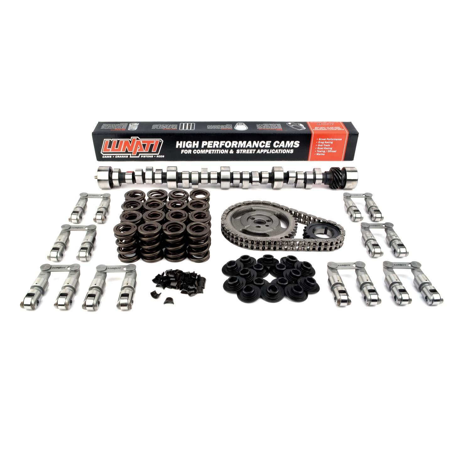 Lunati 20120713K Voodoo 243//251 Hydraulic Roller Complete Cam Kit for Chevrolet Small Block