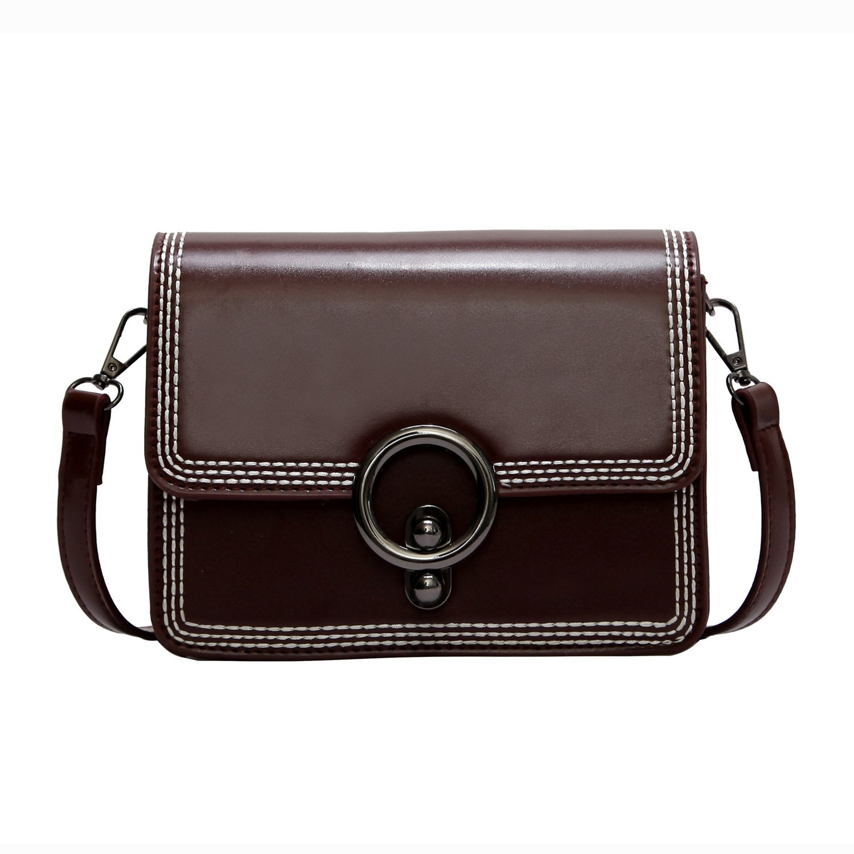 Women Leather Crossbody Bag,ACLULION Shoulder Bag Purses Messenger Bags for Traveling Wine