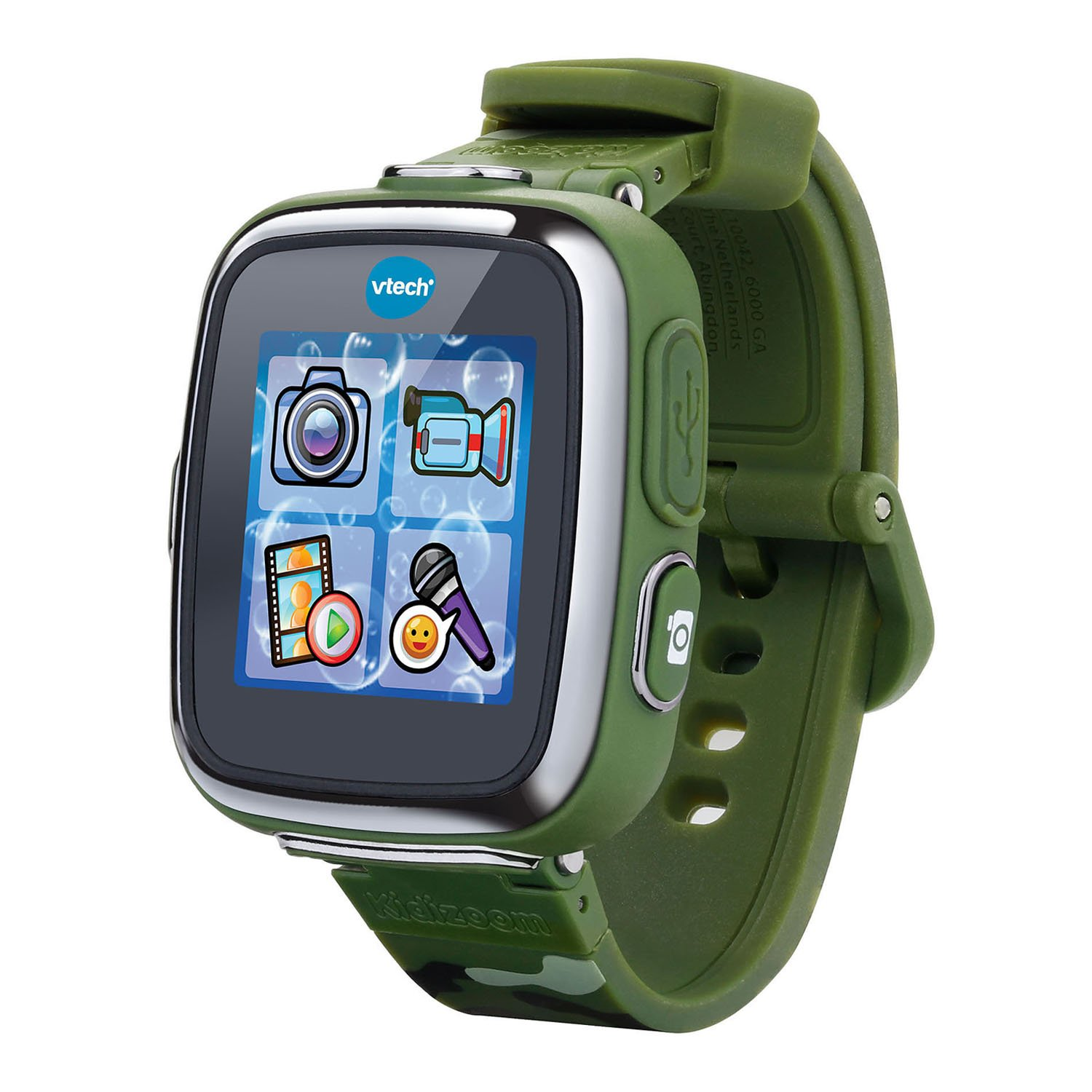 VTech Kidizoom Smartwatch DX - Camouflage - Online Exclusive by VTech (Image #1)