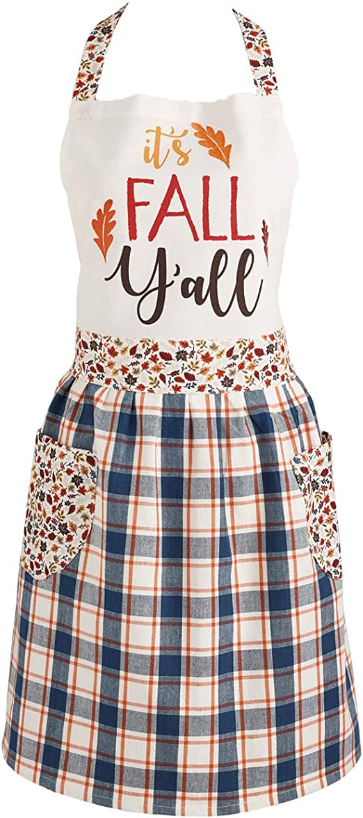 ROOSTER  PRINT APRON BY ESSENTIAL HOME ONE SIZE FITS MOST