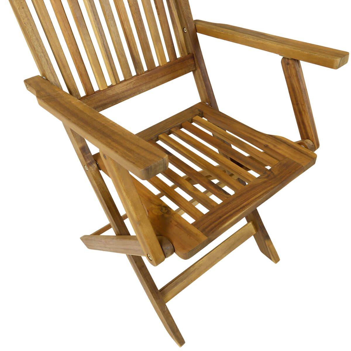 Charles Bentley Garden Hardwood Oval Wooden Garden Patio Furniture Set  Extendable Table U0026 6 Chairs: Amazon.co.uk: Garden U0026 Outdoors