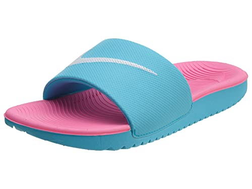 the latest 864f3 8c901 Nike Kids Kawa Slide Sandal (1 M US Little Kid, Gamma Blue
