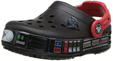 a82832afe6 Crocs Kids  Crocband Fun Lab Darth Vader Lights Clog