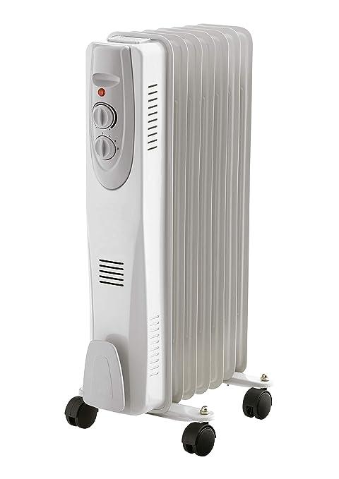 ElectroDH Radiador de Aceite de 7 Elementos. Potencia600 / 900/1500 W